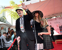 Martin Laudau + family @ hand and foot prints ceremony held @ the TCL Chinese theatre. September 8, 2016