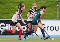 St Cuthbert's College v New Plymouth Girls High. Federation Cup Hockey, Lloyd Elsmore Park, Auckland, New Zealand, Tuesday 3 September 2019. Photo: Simon Watts/www.bwmedia.co.nz/HockeyNZ