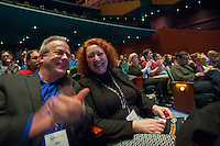 The 2014 SVP Fast Pitch competition took place at McCaw Hall in Seattle, Washington on Tuesday, Oct. 28, 2014. (Photo by Merrill Images)