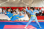SONTAKKE Pragati and KAPSE Devrao Shankarrao of India in action during the Vovinam Mixed Events Self-defense for Women on Day Eight of the 5th Asian Beach Games 2016 at Bien Dong Park on 01 October 2016, in Danang, Vietnam. Photo by Marcio Machado / Power Sport Images