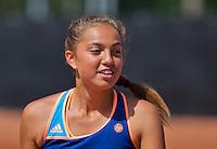 Netherlands, Rotterdam August 05, 2015, Tennis,  National Junior Championships, NJK, TV Victoria, Flory Bierma<br /> Photo: Tennisimages/Henk Koster