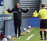 Ruediger Rehm (Trainer, SV Wehen Wiesbaden) beim Spiel in der 3. Liga, SV Wehen Wiesbaden - SV Waldhof Mannheim.<br /> <br /> Foto © PIX-Sportfotos *** Foto ist honorarpflichtig! *** Auf Anfrage in hoeherer Qualitaet/Aufloesung. Belegexemplar erbeten. Veroeffentlichung ausschliesslich fuer journalistisch-publizistische Zwecke. For editorial use only. DFL regulations prohibit any use of photographs as image sequences and/or quasi-video.