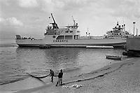 - Sicily, landing place of the ferries on the Strait in Messina ....- Sicilia, approdo dei traghetti sullo Stretto a Messina