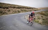 Thomas de Gendt (BEL/Lotto-Soudal) coming down the Port de Balès (HC climb)<br /> <br /> Stage 8 from Cazères to Loudenvielle (141km)<br /> <br /> 107th Tour de France 2020 (2.UWT)<br /> (the 'postponed edition' held in september)<br /> <br /> ©kramon