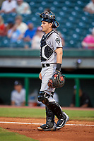 Jackson Generals catcher Marcus Littlewood (16) during a game against the Chattanooga Lookouts on May 9, 2018 at AT&T Field in Chattanooga, Tennessee.  Chattanooga defeated Jackson 4-2.  (Mike Janes/Four Seam Images)