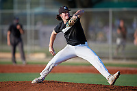 Grant Cherry (46) during the WWBA World Championship at Lee County Player Development Complex on October 8, 2020 in Fort Myers, Florida.  Grant Cherry, a resident of Vestavia Hills, Alabama who attends Vestavia Hills High School, is committed to Tennessee.  (Mike Janes/Four Seam Images)