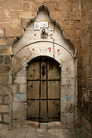 Old door in Mardin, an Arab town in the southeast of Turkey