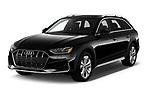 2021 Audi A4-allroad Premium-Plus 5 Door Wagon Angular Front automotive stock photos of front three quarter view
