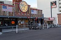 Las Vegas, Nevada.  Bar and Pawn Shop, North 3rd. Street Downtown.