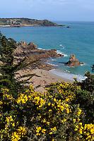 Strand von Beauport im Südwesten, Insel Jersey, Kanalinseln