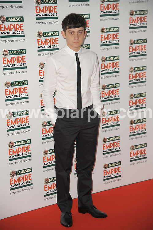 **ALL ROUND PICTURES FROM SOLARPIX.COM**                                             **WORLDWIDE SYNDICATION RIGHTS**                                                                                  Empire Film Awards at the Grovsnor House Hotel in London..This pic:   Craig Roberts                                                                                          JOB REF:   14607   MSR       DATE:   26.03.12                                                        **MUST CREDIT SOLARPIX.COM OR DOUBLE FEE WILL BE CHARGED**                                                                      **MUST AGREE FEE BEFORE ONLINE USAGE**                               **CALL US ON: +34 952 811 768 or LOW RATE FROM UK 0844 617 7637**
