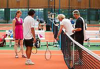 26-08-12, Netherlands, Amstelveen, Tennis, NVK, Toss bij de mixed dubbels