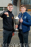 Darragh Reen and Ruarí O'Sullivan CBS the Green and Na Gaeil footballers.