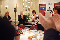 Montreal (QC) CANADA, June 14 2010-HEATHER MUNROE-BLUM, PRINCIPAL AND VICE-CHANCELLOR OF MCGILL<br />                UNIVERSITY, AT THE CANADIAN CLUB OF MONTREAL'S PODIUM