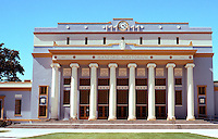 Hanford CA.:  Hanford Auditorium,1924. North side of Courthouse Square. Resembles Civic Auditorium of Stockton--same date.