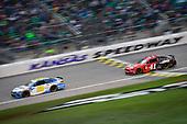 #95: Matt DiBenedetto, Leavine Family Racing, Toyota Camry Digital Momentum / Hubspot, #41: Daniel Suarez, Stewart-Haas Racing, Ford Mustang Haas Automation Demo Day