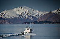 Heading out to Fish, Kodiak Island, Alaska, US