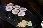 Tuna Sushi, Eito Restaurant, Florence, Italy, Italian, Europe