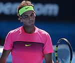 Rafael Nadal (ESP) defeats Mikhail Youzhny (RUS) 6-3, 6-2, 6-2