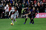 Rayo Vallecano's R. D. T. and FC Barcelona's Clement Lenglet during La Liga match between Rayo Vallecano and FC Barcelona at Vallecas Stadium in Madrid, Spain. November 03, 2018. (ALTERPHOTOS/A. Perez Meca)