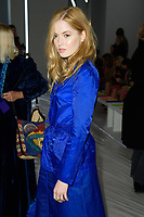 Ellie Bamber<br /> at the Jasper Conran show as part of London Fashion Week, London<br /> <br /> <br /> ©Ash Knotek  D3378  17/02/2018