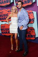NASHVILLE, TN, USA - JUNE 04: Caroline Bryan, Luke Bryan at the 2014 CMT Music Awards held at the Bridgestone Arena on June 4, 2014 in Nashville, Tennessee, United States. (Photo by Celebrity Monitor)