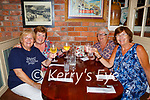 Noreen Kennelly, Liz Bevin, Peggy Murphy and Marion Jordan  meeting up for a drink and some food in Porterhouse on Monday