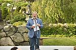 David Rockefeller Jr. introduces pianist Bruce Levingston at Kykuit - a recital to honor David Rockefeller's 100th birthday.