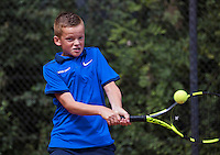 Hilversum, Netherlands, August 8, 2016, National Junior Championships, NJK, Colin Standaart (NED)<br /> Photo: Tennisimages/Henk Koster