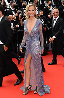 CANNES, FRANCE. July 12, 2021: Lady Victoria Hervey at the gala premiere of Wes Anderson's The French Despatch at the 74th Festival de Cannes.<br /> Picture: Paul Smith / Featureflash
