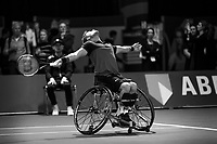 Rotterdam, The Netherlands, 14 Februari 2020, ABNAMRO World Tennis Tournament, Ahoy, Wheelchair: Alfie Hewett (GBR).<br /> Photo: www.tennisimages.com