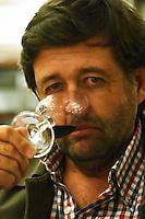 Q Fernando Deicas, president and owner of Bodega Juanico Familia Deicas Winery, Juanico, Canelones, Uruguay, South America