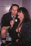 HELMUT BERGER E SELENA DE ROSA NEI BAGNI DELL'EASY GOING<br /> ROMA 1984