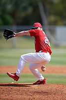 St. Louis Cardinals pitcher Cory Malcom (22) during a Minor League Spring Training game against the Houston Astros on March 27, 2018 at the Roger Dean Stadium Complex in Jupiter, Florida.  (Mike Janes/Four Seam Images)