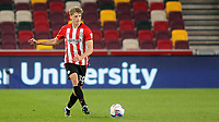 Mads Roerslev of Brentford in action during Brentford vs Rotherham United, Sky Bet EFL Championship Football at the Brentford Community Stadium on 27th April 2021