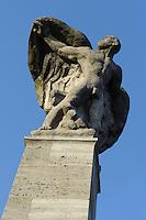 Zeppelin-Denkmal, Konstanz, Baden-Württemberg, Deutschland