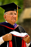 Belmont Abbey College Graduation 2009 in Belmont North Carolina..