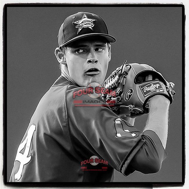 The #RedSox are giving first-rounder and former @GreenvilleDrive pitcher Trey Ball a chance to be a two-way player. Here Ball pitches in a game on July 1, 2014, at Fluor Field in Greenville, S.C. (Tom Priddy/Four Seam Images) #MiLB https://www.milb.com/milb/news/red-sox-trey-ball-getting-new-life-as-two-way-prospect/c-302678414?tcid=fb_article_302678414