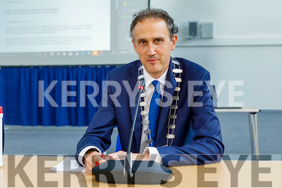 Cllr Patrick O'Connor Scarteen elected Cathaoirleach of Kerry County Council at the County Council meeting on Monday.