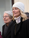 "Pic shows: Vanessa Redgrave - and daughter Joely Richardson<br /> <br /> Funeral of Roger Lloyd-Pack - ""Trigger"" from Only Fools and Horses.<br /> <br /> Mourners arriving at the service at Actors Church in Covent Garden -<br /> <br /> <br /> <br /> <br /> Pic by Gavin Rodgers/Pixel 8000 Ltd"