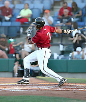Roberto Rodriguez / Yakima Bears playing against the Boise Hawks - Boise, ID - 08/27/2008..Photo by:  Bill Mitchell/Four Seam Images
