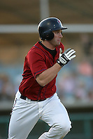 August 16 2009: Matt Weston of the Lancaster JetHawks during game against the Bakersfield Blaze at Clear Channel Stadium in Lancaster,CA.  Photo by Larry Goren/Four Seam Images