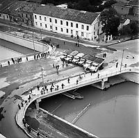 20 juillet 1965. Vue de l'inauguration du pont Montaudran.
