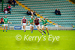 Causeway's Colum Harty breaks the tackle from Ballyduff's Thomas Slattery in round 2 of the County Senior Hurling championship,