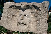 Slowenien, Seca, Skulpturenpark Forma Viva
