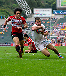 Japan play Georgia in a Qualifier Quarter Final on Day 3 of the Cathay Pacific / HSBC Hong Kong Sevens 2013 on 24 March 2013 at Hong Kong Stadium, Hong Kong. Photo by Aitor Alcalde / The Power of Sport Images