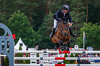 AUS-Kevin McNab rides Scuderia 1918 A Best Friend during the Showjumping for the Meßmer Trophy mit Deutscher Meisterschaft CCI4*-S. The Longines Luhmuehlen International Horse Trials. Salzhausen, Germany. Sunday 16 June. Copyright Photo: Libby Law Photography