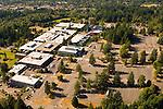Aerial View of Portland Community College- Sylvania Campus, Portland, Oregon