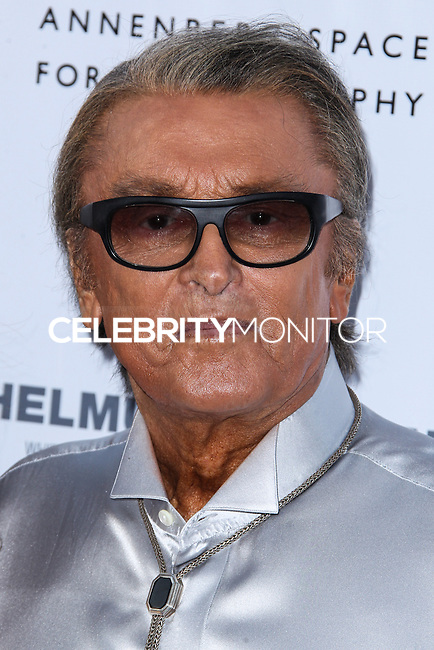 CENTURY CITY, CA - JUNE 27: Robert Evans attends the Helmut Newton opening night exhibit at Annenberg Space For Photography on June 27, 2013 in Century City, California. (Photo by Celebrity Monitor)