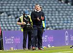 St Mirren v St Johnstone…09.05.21  Scottish Cup Semi-Final Hampden Park <br />Saints boss Callum Davidson applauds his players<br />Picture by Graeme Hart.<br />Copyright Perthshire Picture Agency<br />Tel: 01738 623350  Mobile: 07990 594431